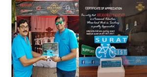 Manojbhai-cycling