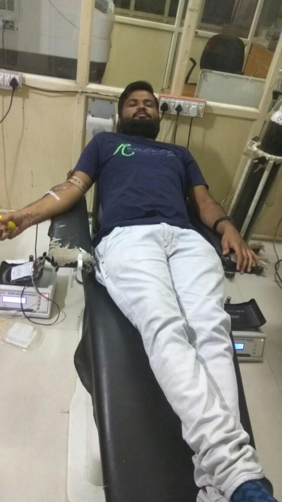 Ketan-Blood donor