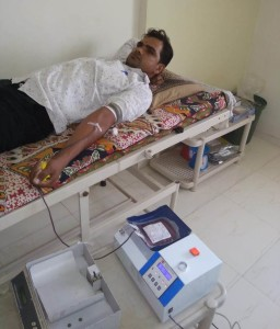 Jitendra Chaudhary-Blood Donate