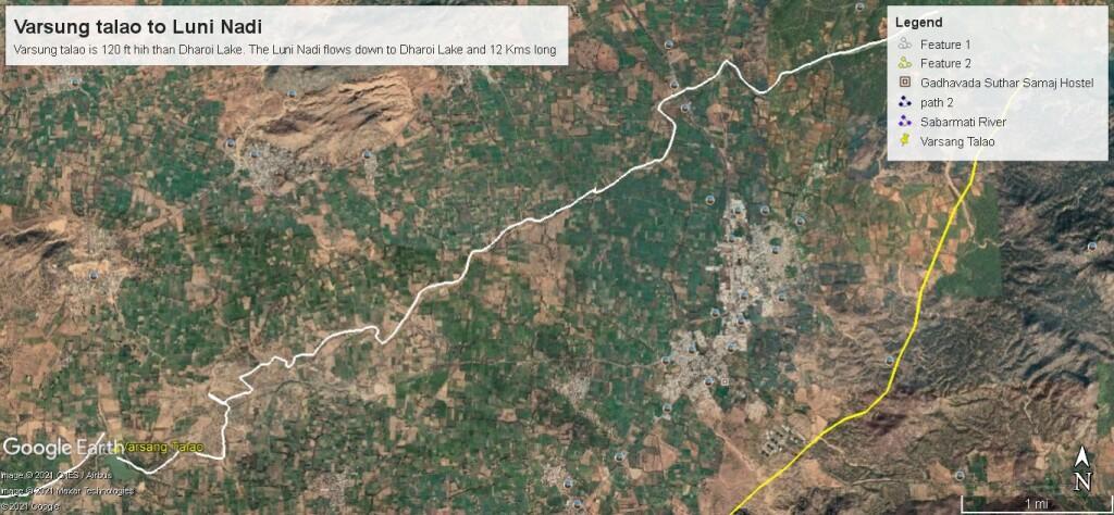 Varsung talao to Dharoi